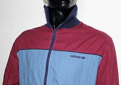 Adidas  Jacket Vintage Made In  West Germany Giubbotto Imbottito
