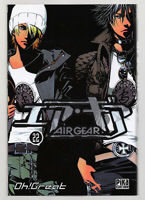 EO 1ère EDITION V.F / AIR GEAR T°22 / OH ! GREAT / PIKA EDITION / COMME NEUF !