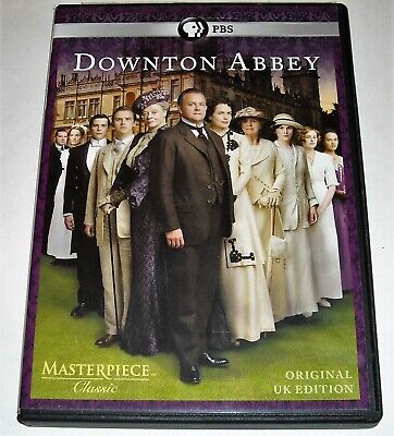 DOWNTOWN ABBEY Season One 1 DVD PBS Original UK Edition Masterpiece Classic