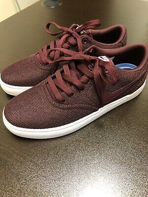eed1088171eac NIKE WOMENS SB Check Solar Canvas P sneakers shoes 921464-610 Sz 7 ...