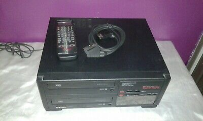 Twin Tape Vhs Orion Dx 2020P/s