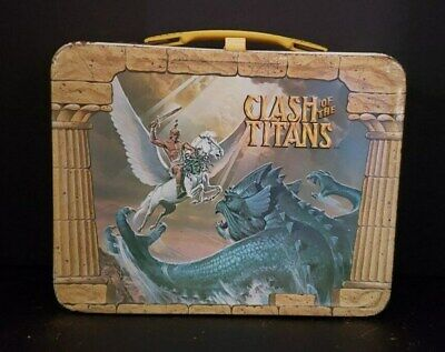 1981 CLASH OF THE TITANS Metal Lunch Box