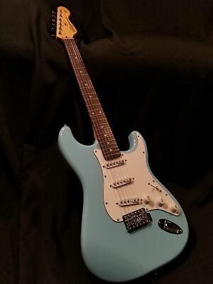 NEW Vintage Wilkinson 50's StratStyle SSS V6LB Laguna Blue Electric Guitar