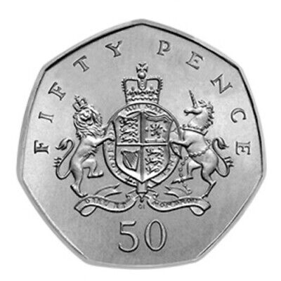 2013 50P Coin Rare Christopher Ironside Fifty Pence