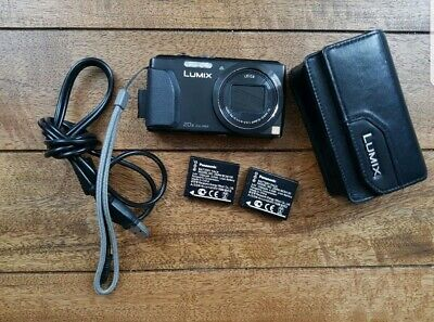 Panasonic LUMIX DMC-TZ40 / DMC-ZS30 18.1MP Digital Camera - Black