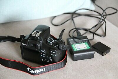 Canon EOS 1100D 12.2MP Digital SLR Camera Used