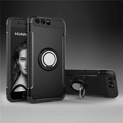 For Huawei P10 Lite Plus Luxury Shockproof Hybrid Rubber Hard Armor Case Cover