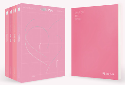 BTS MAP OF THE SOUL PERSONA ALBUM (+/- POSTER OPTIONS) 1st Press! [KPOPPIN USA]