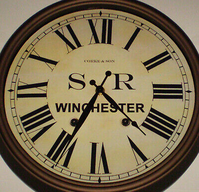 Southern Railway SR Historic Style Station Clock, Winchester Station