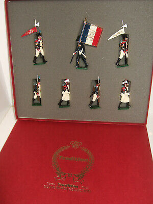Tradition Soldier Set 716 Napoleonic War, French Line Infantry 1815 in 54mm