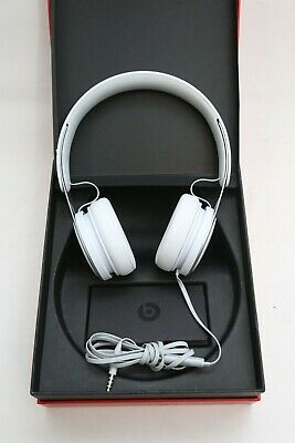 Beats EP by Dr. Dre A1746 On Ear Headphones in Box - White