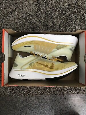 4f6d538baf0a Nike Zoom Fly SP Dark Citron Yellow Black White AJ9282-300 Men s 12.5 New