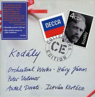 Orchestral Works - Z. Kodaly (2010, CD NEUF) 4 CD4 DISC SET