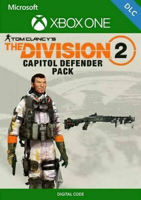 Tom Clancys The Division 2 Capitol Defender Pack Preorder DLC XBOX ONE