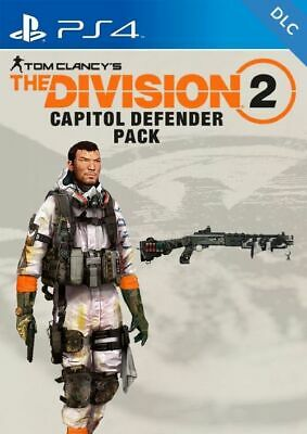 Tom Clancys The Division 2 Capitol Defender Pack Preorder DLC PS4