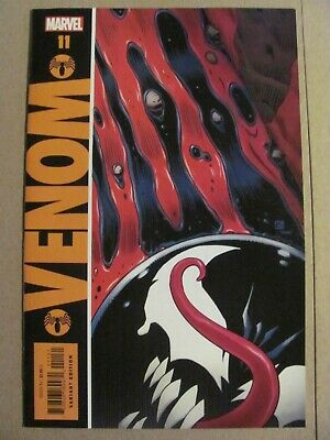 Venom #11 Marvel 2018 Series Gibbons Watchmen Homage Variant 9.6 Near Mint+