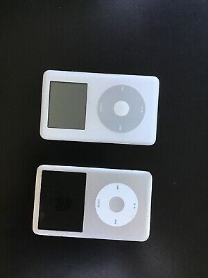 Lot of 2 Apple iPod 60GB and 160GB