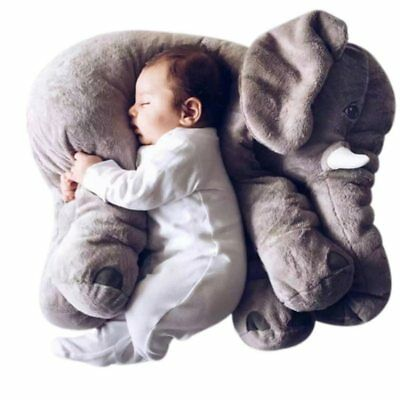 60cm Giant Big Elephant Plush Soft Toys Stuffed Animal Only Skin Cover No Cotton