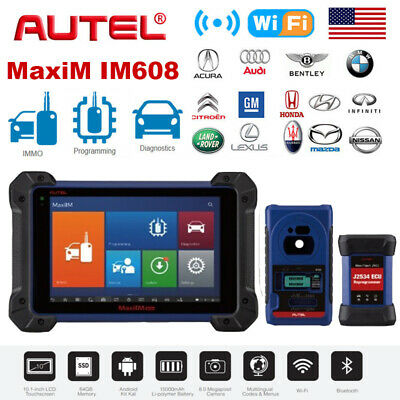 Autel MaxiIM IM608 Diagnostic Key Programming and ECU Coding Tool Android Tablet