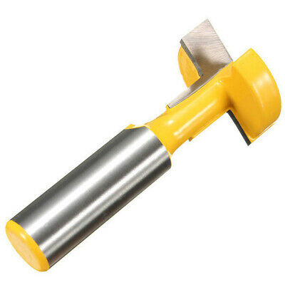 1/2Inch Shank T-Slot T-Track Slotting Router Bit Woodwork Chisel Cutter Tool AU