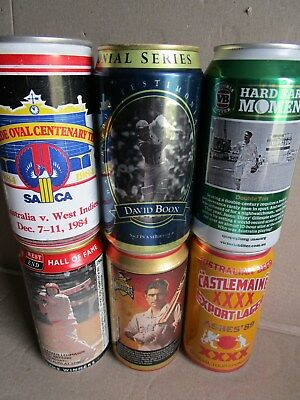 Cricket Lover, Collectable Cans X 6, Getting Hard!!