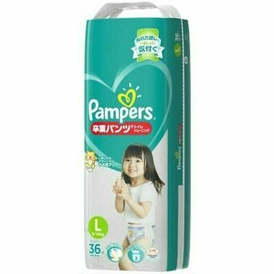 Pampers Graduation Pants L - 36 Pack