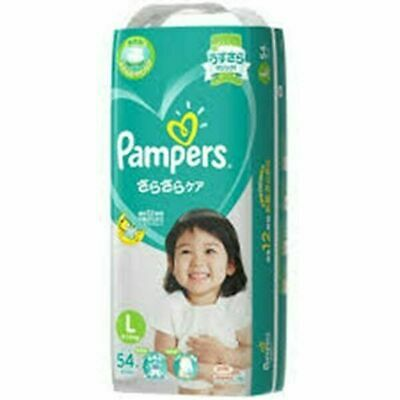 Pampers (Tape) Size L - 54 Pack