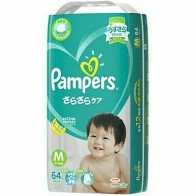 Pampers (Tape) Size M - 64 Pack
