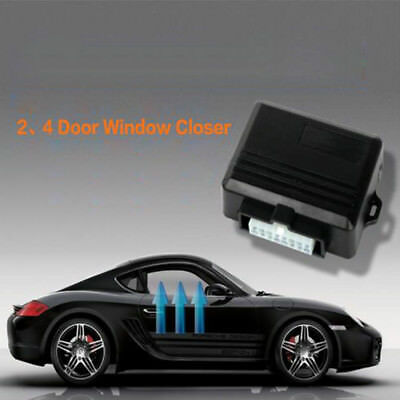 Window Closure System 4 Door Automatic Roll-Up Module Universal Closing Kit