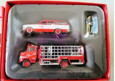NEW TOMICA LIMITED VINTAGE 1/64 CROWN VAN & NISSAN 3.5t TRUCK Coca-Cola