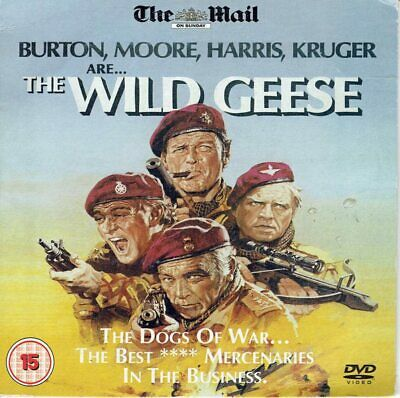 """War Movies 1 """"  The Wild Geese  """" Sellers Bargains"""
