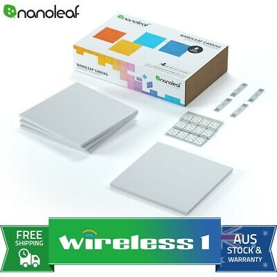Brand New Nanoleaf Canvas Expansion Pack - 4 Pack