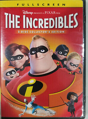 The Incredibles (Full Screen 2 Disc Collector's Edition) *Very Good Condition*