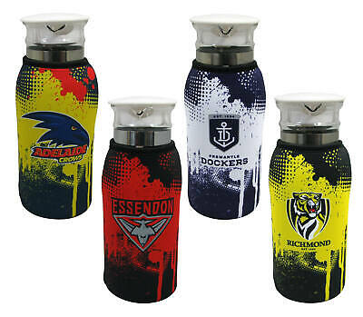 AFL Water/Juice Jug with neoprene sleeve