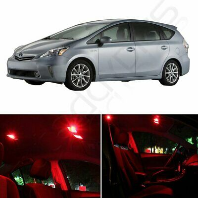 Vanity Interior License Reverse for Toyota Sienna LED Package 18 Pcs