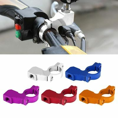 "7/8"" Motorcycle Dirt Bike ATV Handlebar Mirror Mount Clamp Bracket Adapter 10mm."