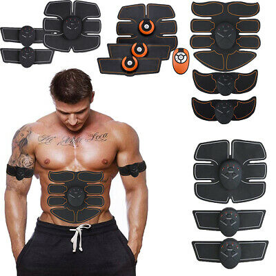 EMS Abdominal Muscle Trainer Gear Abs Fit Exercise Shape Body Building Fitness