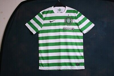 3d07f179fc8 Glasgow Celtic Large 2012 2013 125th Anniversary home football shirt jersey  top