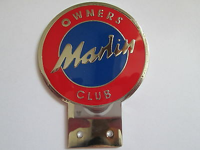 Badges & Mascots Humorous Marlin Owners Club Badge Chrome And Enamel