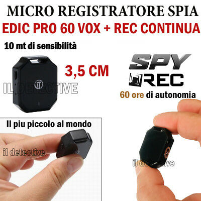 Micro Mini Registratore Vocale Spy  Spia  Voice Recorder Ambientale Pen Usb