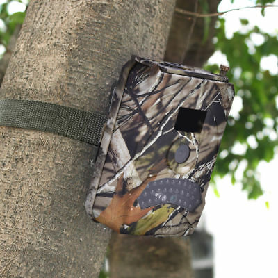 Waterproof Wildlife Scout Trail Hunting Camera Infrared 12MP 1080P Video Cam SD