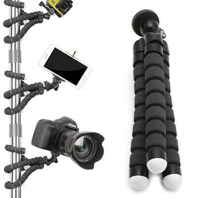 For GoPro Camera Flexible Stand Tripod Gorilla Monopod Mount Holder Octopus