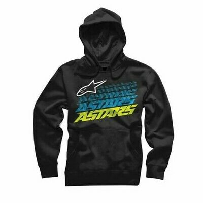 Alpinestars Hashed Pull Pile Regular Fit Cotone Jersey Nero