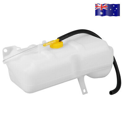Coolant Overflow Bottle Dual Pipe Tank for Nissan Patrol GQ/Ford Maverick 88-94