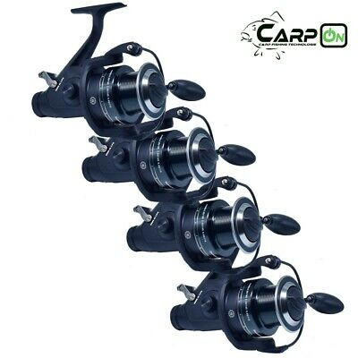 CarpOn Freilaufrolle sk 6000 CPO Camou Aal Rolle Karpfen Rolle Angelrolle