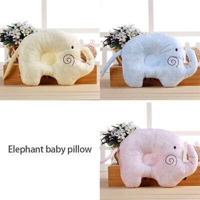 Baby Foam Infant Memory Pillow Prevent Flat Head Anti-Roll Newborn Support Neck