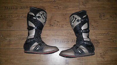 FOX Stiefel Enduro Supermoto Motocross Cross US Gr.13 (45/46)