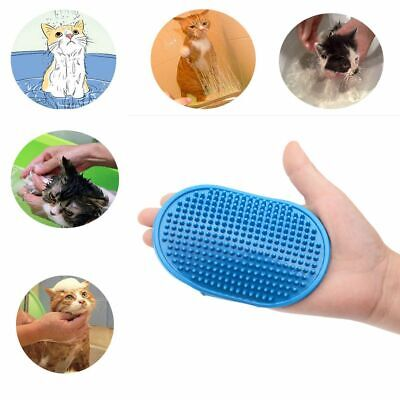 Pet Touch Grooming Massage Hair Removal Bath Brush Glove Dog Cat Hair Comb Hot