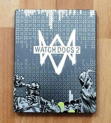 WATCH DOGS 2 STEELBOOK BRAND NEW STEEL CASE PS4 OR XBOX ONE G2 STEELBOX no game