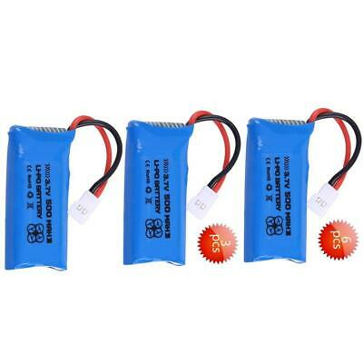 6pcs ENGPOW 3.7V 500mAh 25C Rechargeable LiPo Battery for RC Car/Airplane/Boat